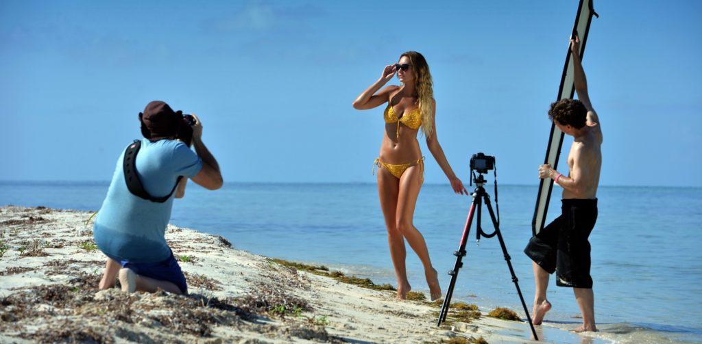съемки на пляже видео
